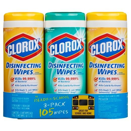 Clorox Disinfecting Wipes Value Pack Bleach Free Cleaning Wipes