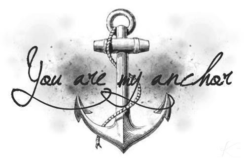 You are my anchor<3 | Navy girlfriend | Quote tattoos girls ...