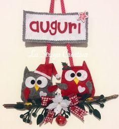 Photo of Fuoriporta natalizio  gufetti