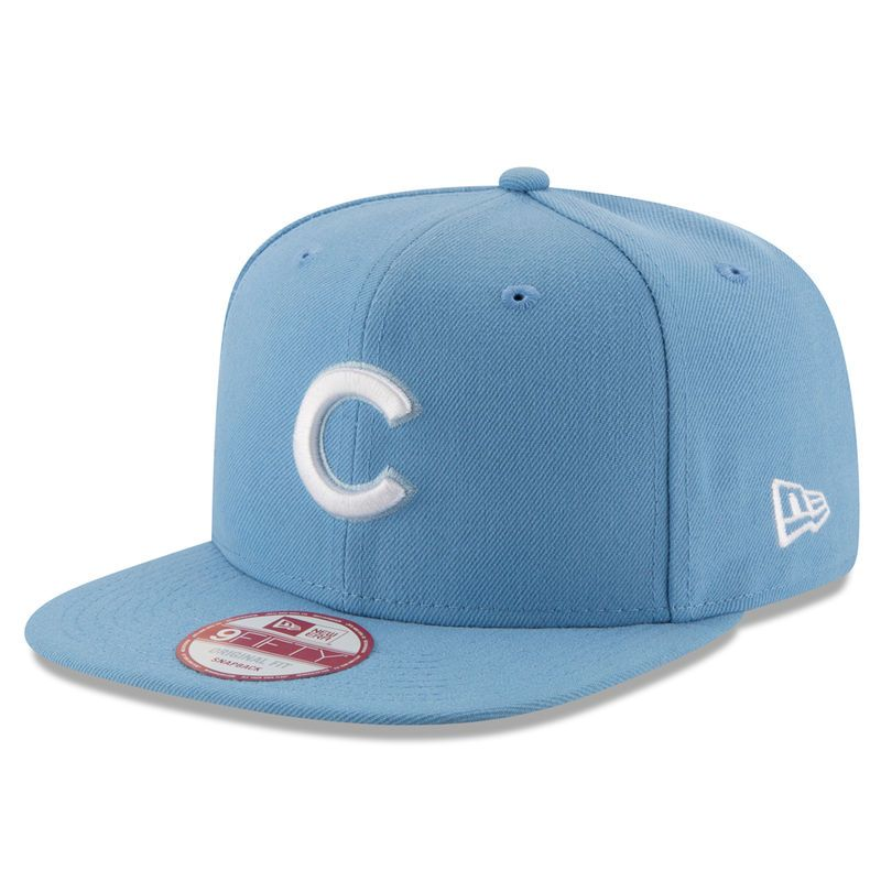 a38733685e4 Chicago Cubs New Era Team Refresher 9FIFTY Snapback Adjustable Hat - Light  Blue
