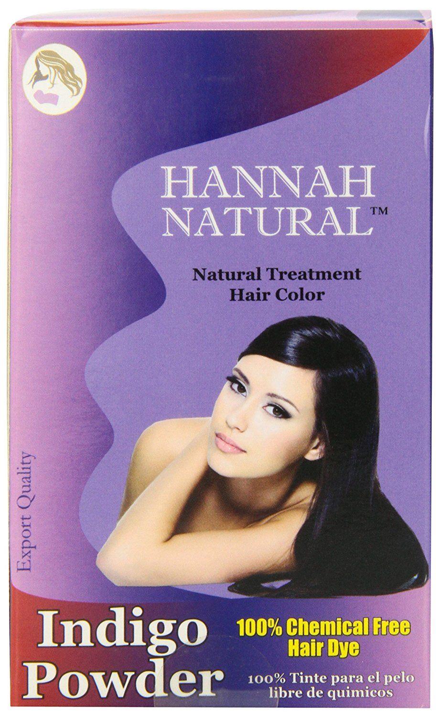 Hannah natural pure indigo powder for hair dye gram you
