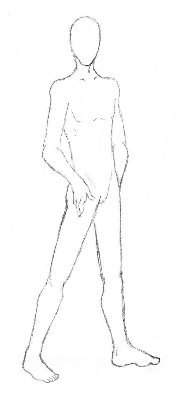 Male Base 1 Drawing Anime Bodies Cool Art Drawings Human Drawing