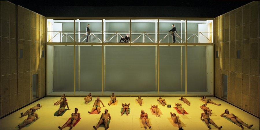 Konig Ottokars Gluck Und Ende Inszenierung Martin Kusej Buhne Martin Zehetgruber Salzburger Festspiele Burgtheater Wien 2005 2020