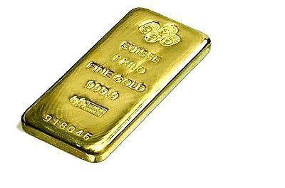 1 Kilo 32 15 Troy Ounces Pamp Suisse 9999 Fine Gold Bar Goldbullionbars