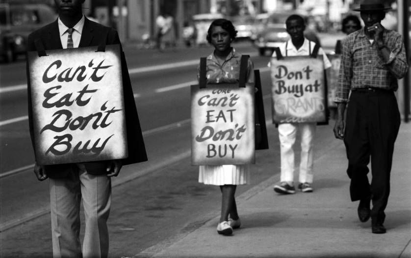 Civil Rights Photos From Sit Ins And Protest Training Sessions 1960 Civil Rights African American History History