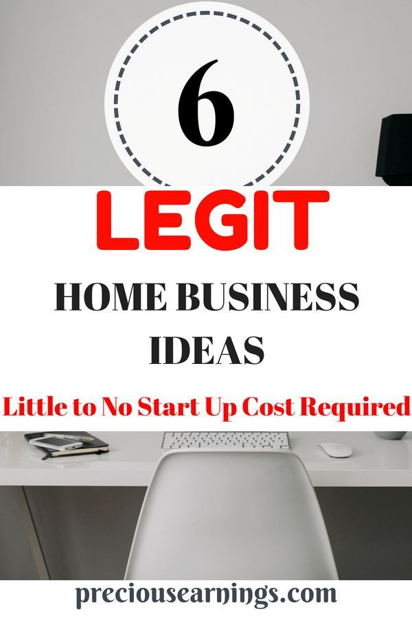 Legit Home Business Ideas Little To No Startup Cost Jobs