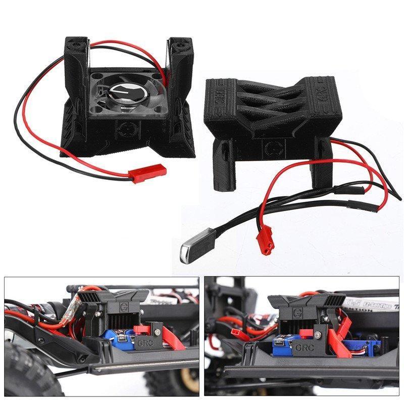 GRC RC Part Crawler Car ESC radiator Cooling fan For 1//10 TRAXXAS TRX-4 trx4 US
