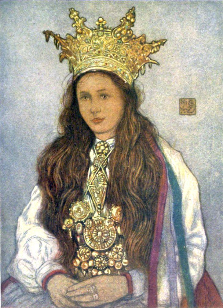 Norwegian Sunday Bridal Crowns Part IV, Art Folk