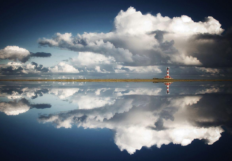 Photo Lighthouse Reflection by Carsten Meyerdierks on 500px