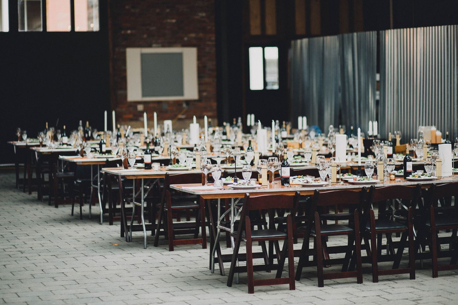 A Simple, Rustic Wedding at Brewmaster's Gate in Columbus ...