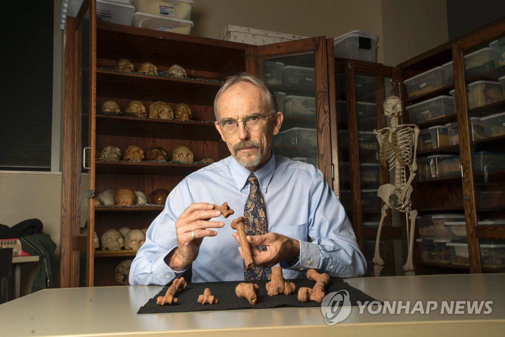 US-SCIENCE-ANTHROPOLOGY-FOSSIL-EVOLUTION