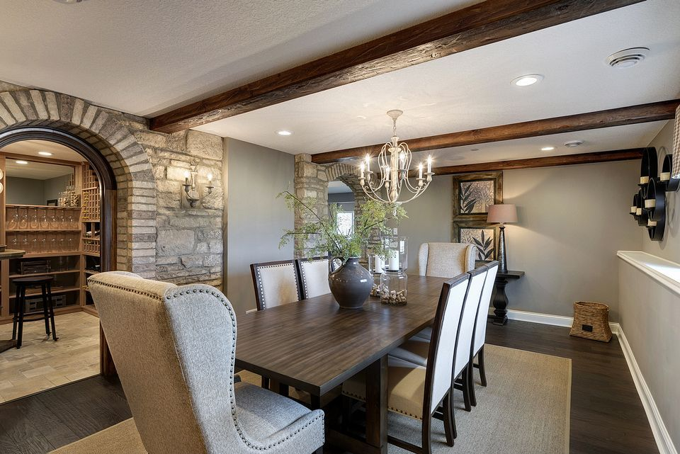 Mattamy homes inspiration gallery dining area decorative moldings also ambergate dr victoria mn room design products rh pinterest