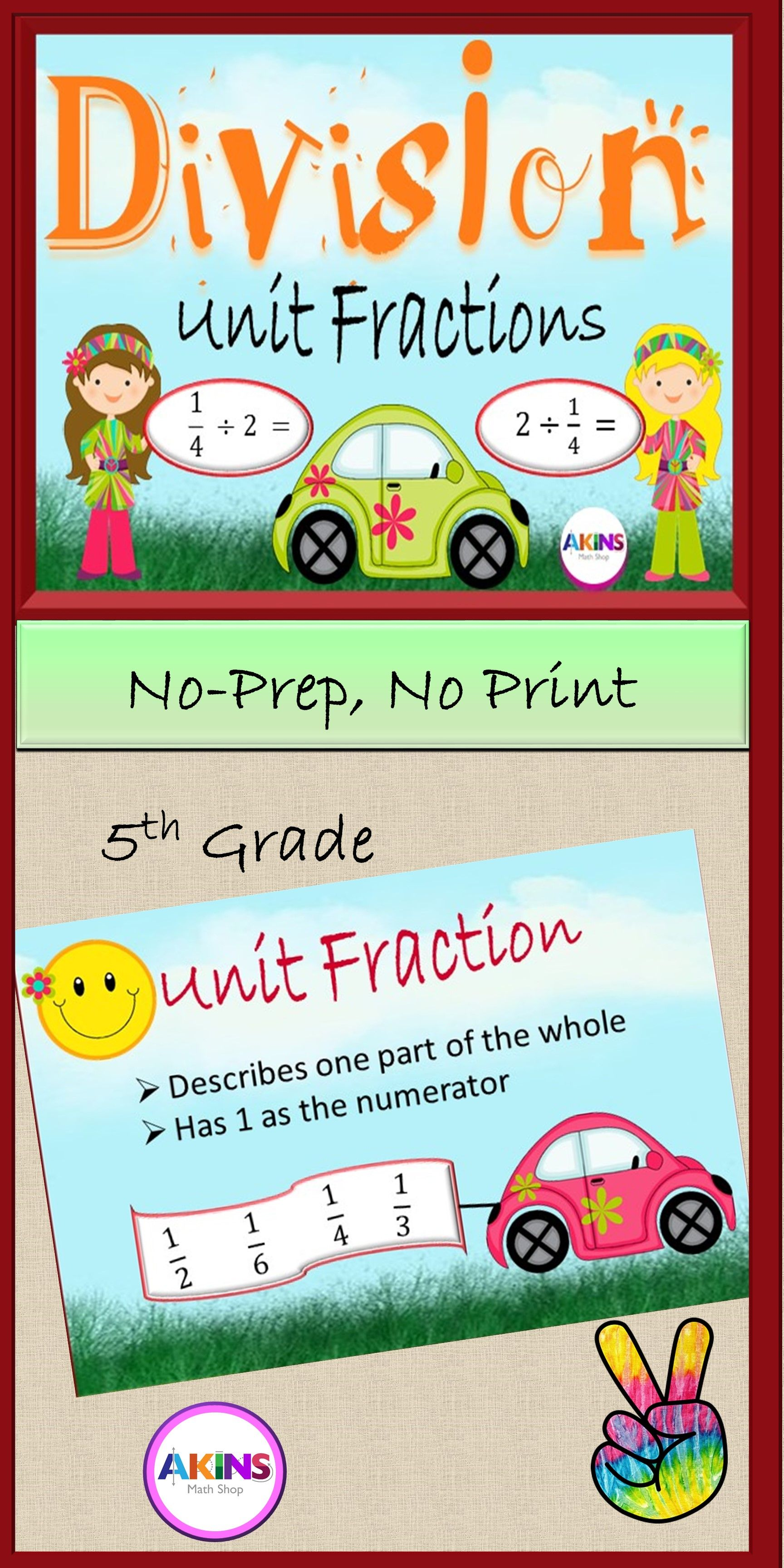 Division Of Unit Fractions