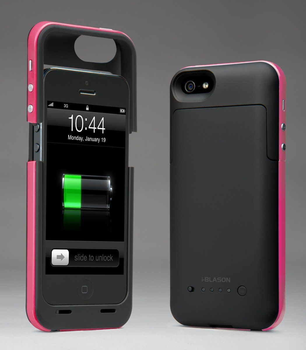 iPhone 5 Rechargeable External Battery PowerPack Case.