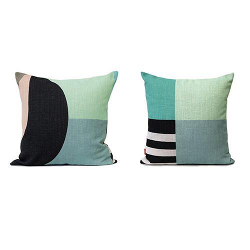 Pink Dawn 50cm High Quality Linen Cushion Collab From Lisa