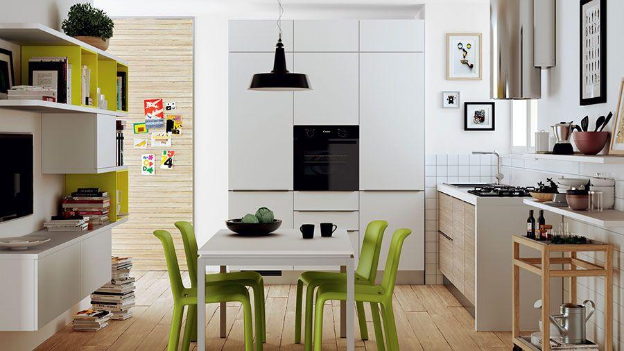 Idee per Arredare Cucine Piccole con Scavolini | Pinterest