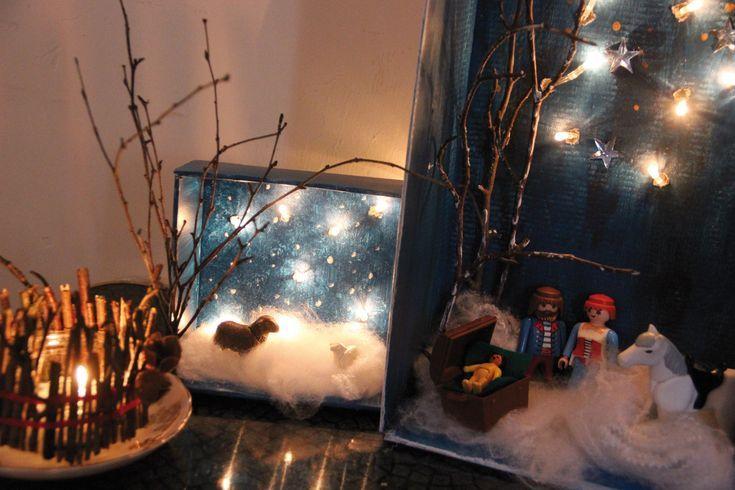 Photo of Basteln mit Licht! Erstellen Sie eine Landschaft oder ein Kinderbett in einem Schuhkarton …