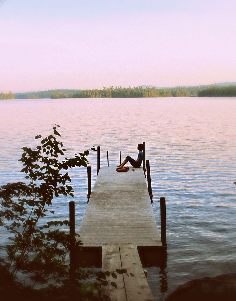 Nothing better than some quiet time on the dock