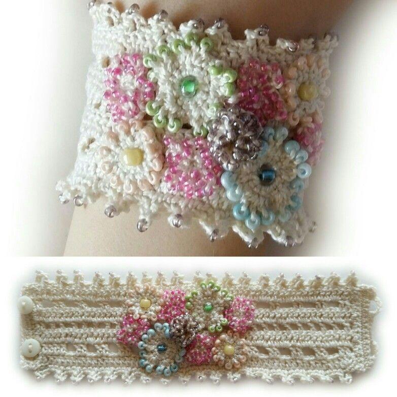 crochet #crochetbracelet #crochetjewelry #crochetaccessories | FREE ...