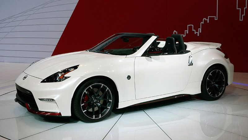Nissan 370z Nismo Roadster Concept Looks Ready To Roll Fotografia