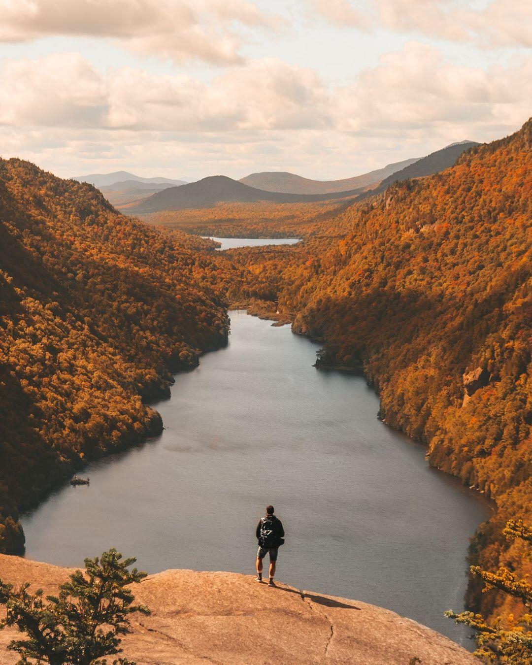Indian Head Mountain in the Adirondacks high peak region