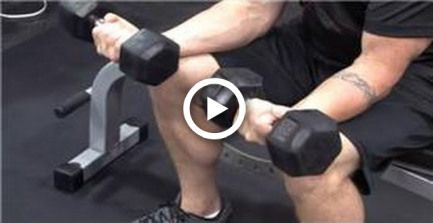 Personal Fitness Tips : How to Build Big Wrists by Using Dumbbells #fitness
