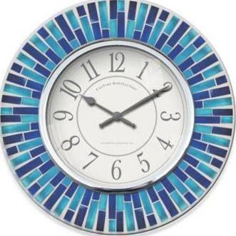 Small Wall Clock For Bathroom Blue Wall Clocks Blue Walls Blue