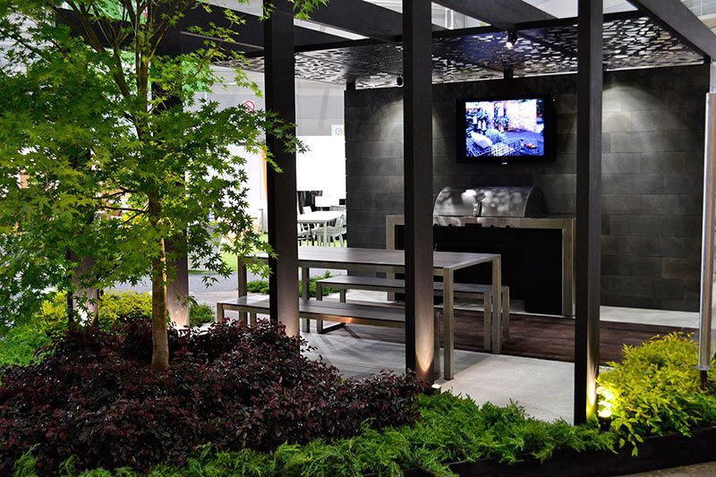 Grand Designs Australia Live 2011 Show Gardens Landscaping Project Rolling Stone Landscapes