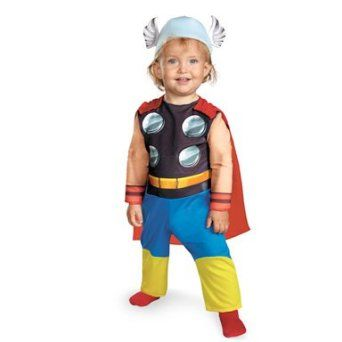 ## VERY Cute ##: Disguise Costumes Marvel Super Hero Squad Thor Infant Costume