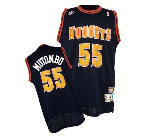 e75186ad8732 ... denver nuggets dikembe mutombo 55 away throwback jersey