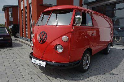 1965 T1 VW Panel bus vintage,1570cc ( Lollar, Deutschland)