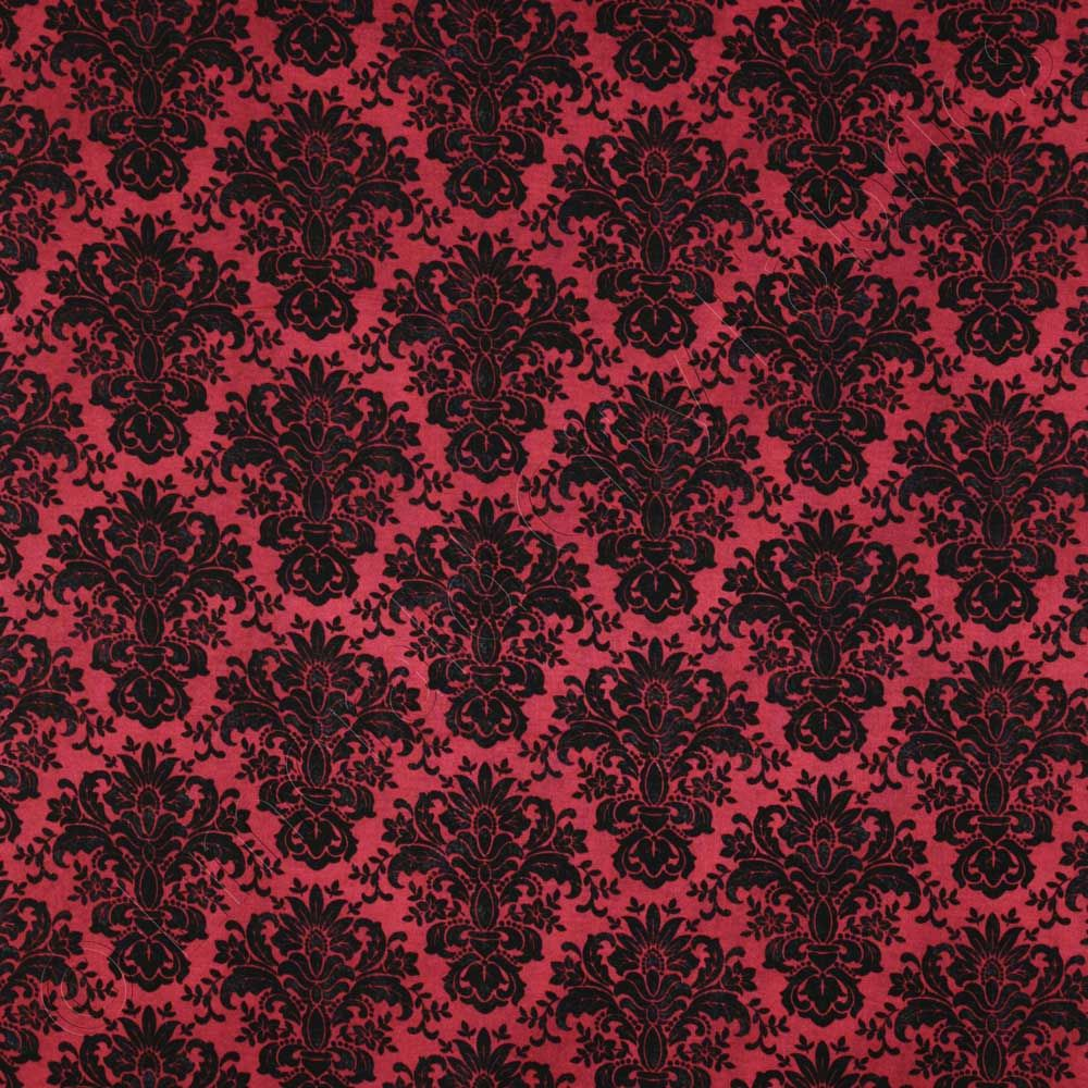 Timeless Treasures April in Paris Textured Damask Red, 44-inch (112cm) Wide Cotton Fabric Yardage PARIS-C9409-RED - Emerald City Fabrics