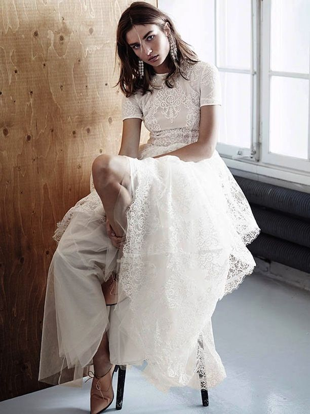 Hm Conscious Exclusive Collection Spring 2017 Lookbook Who What Wear Boho Wedding