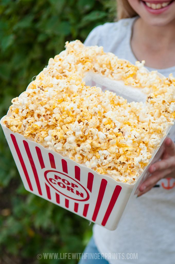 Valentines Day Box; popcorn bucket…