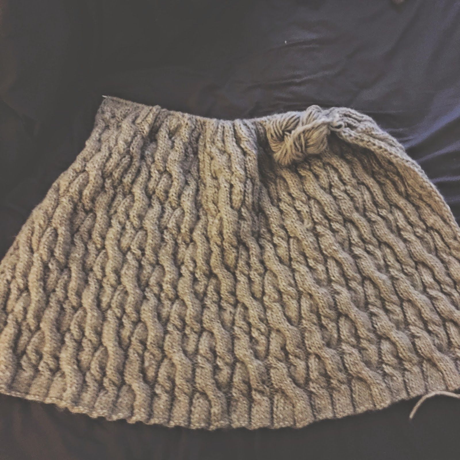 New England Knitting // Blog Post // Cape Ann Blanket // Hand Knit