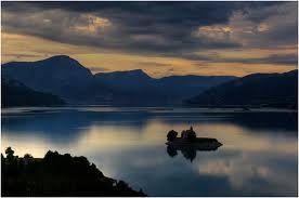 Lac de Serre Poncon, France