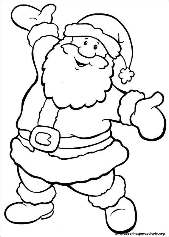 coloring pages | Christmas - Coloring | Pinterest | Navidad, Molde y ...