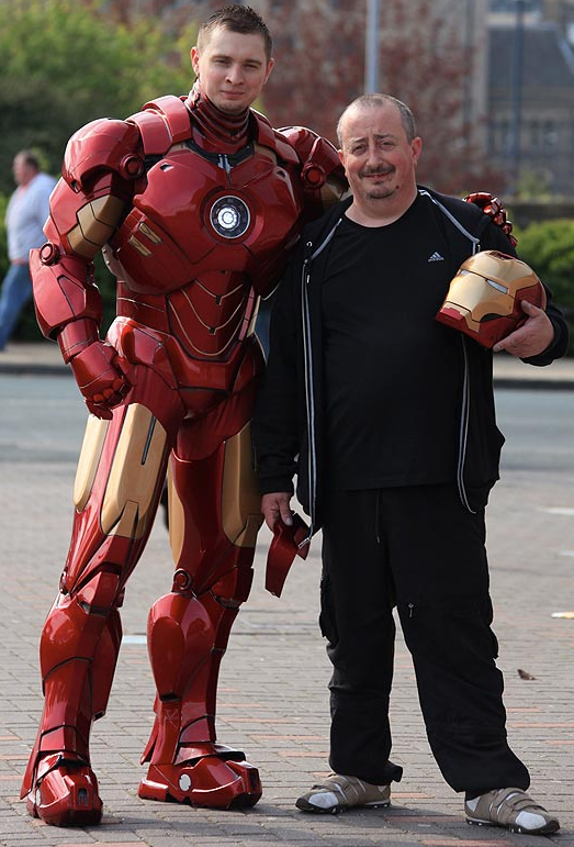 You Ll Never Guess What This Incredible Iron Man Suit Is Made From