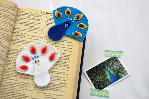 Dreamstuff: Wauw, ik ben een Pauw Boekenlegger - Proud to be a Peacock Bookmark