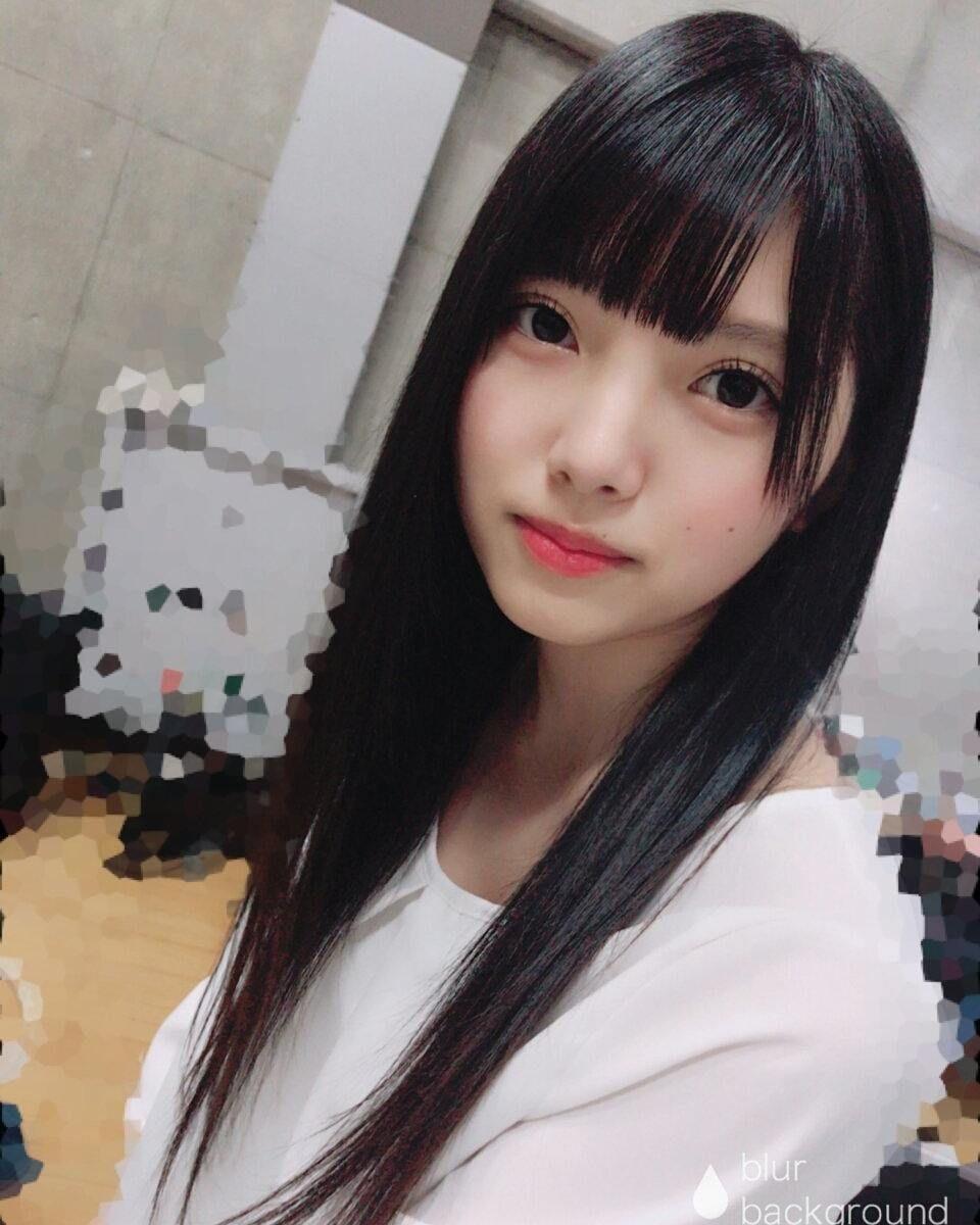上村莉菜 黒髪