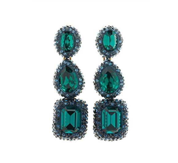 Oscar De La Renta earrings at Swag