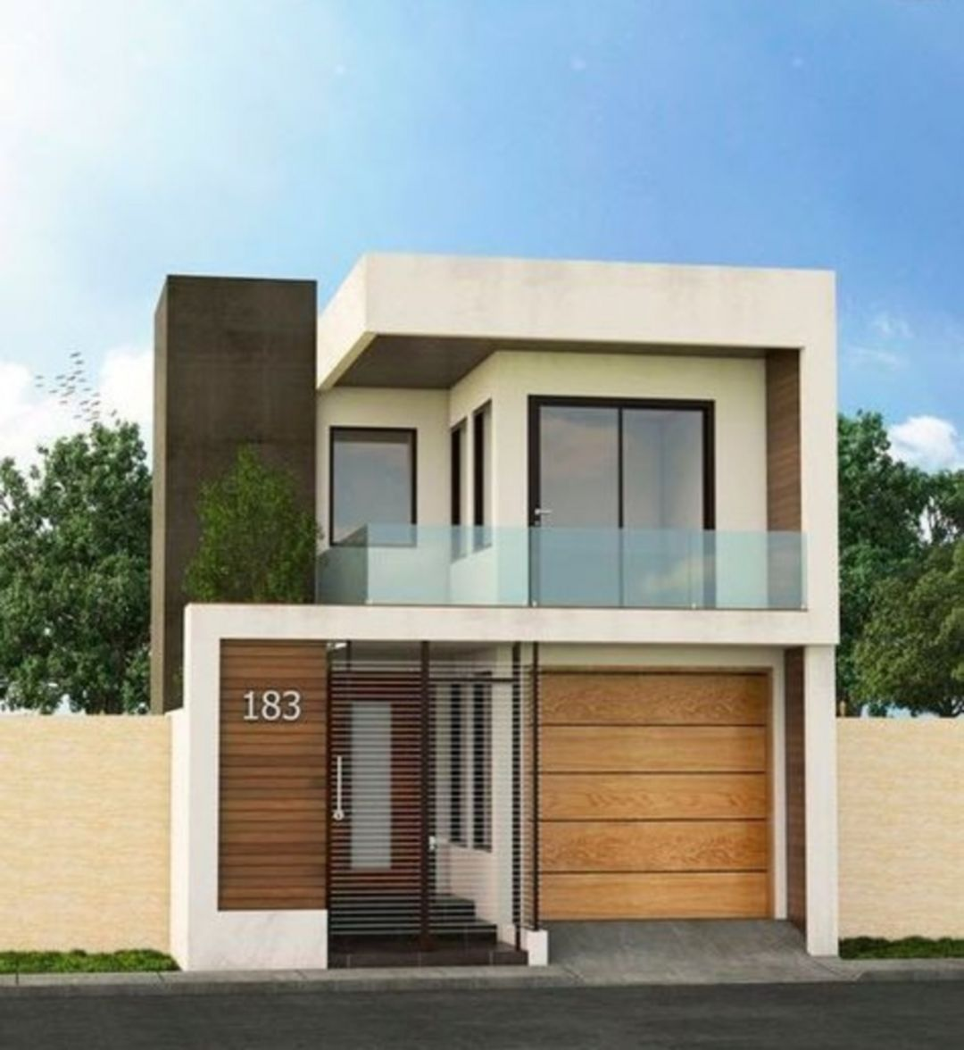13 Modern Minimalist Tiny House Design Ideas For Your Convenience Facade House Modern Small House Design Minimalist House Design