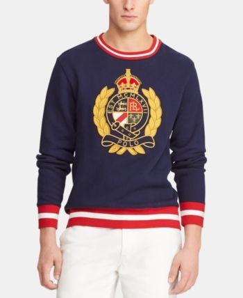 53e5263b Polo Ralph Lauren Men's Big & Tall Fleece Graphic Sweatshirt ...