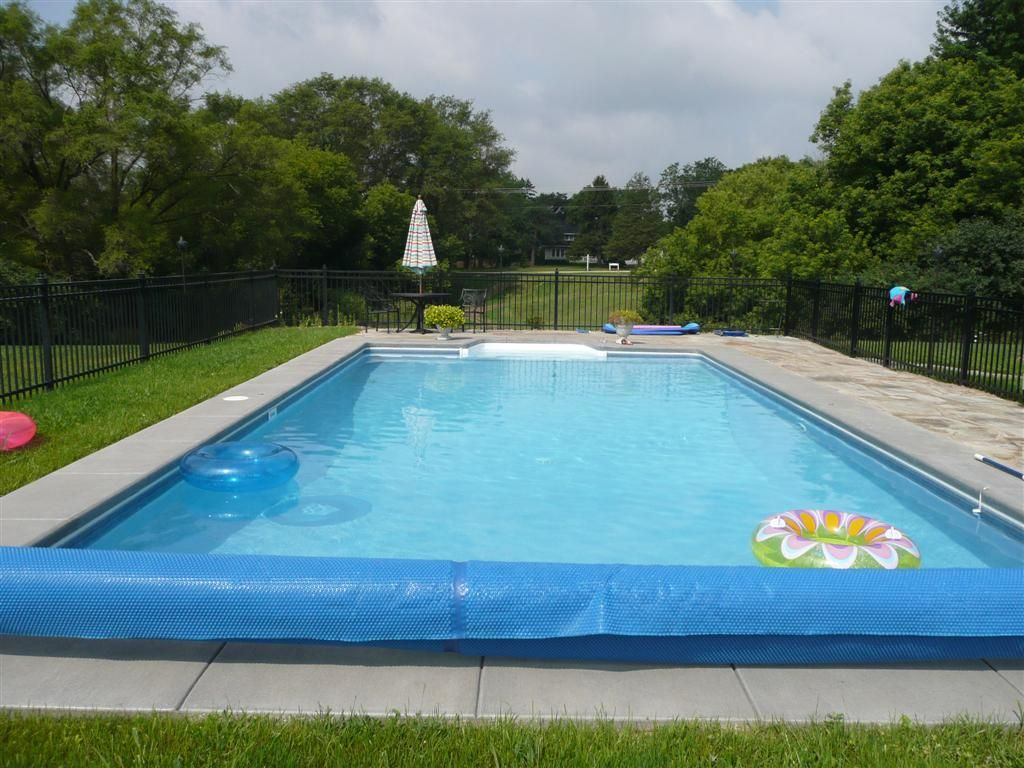 16x32 rectangle sport pool