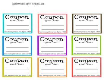 Coupons Template Free Printable Selimtd Printable Coupon Book