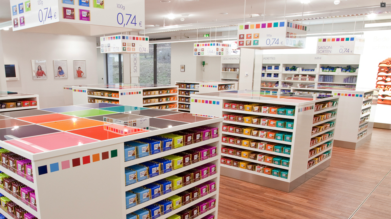 Ritter Sport Factory in Waldenbuch, Germany | Chocolate