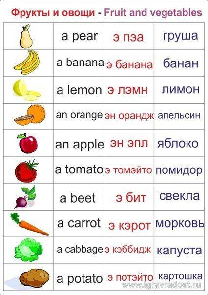 английский в картинках для детей учебник