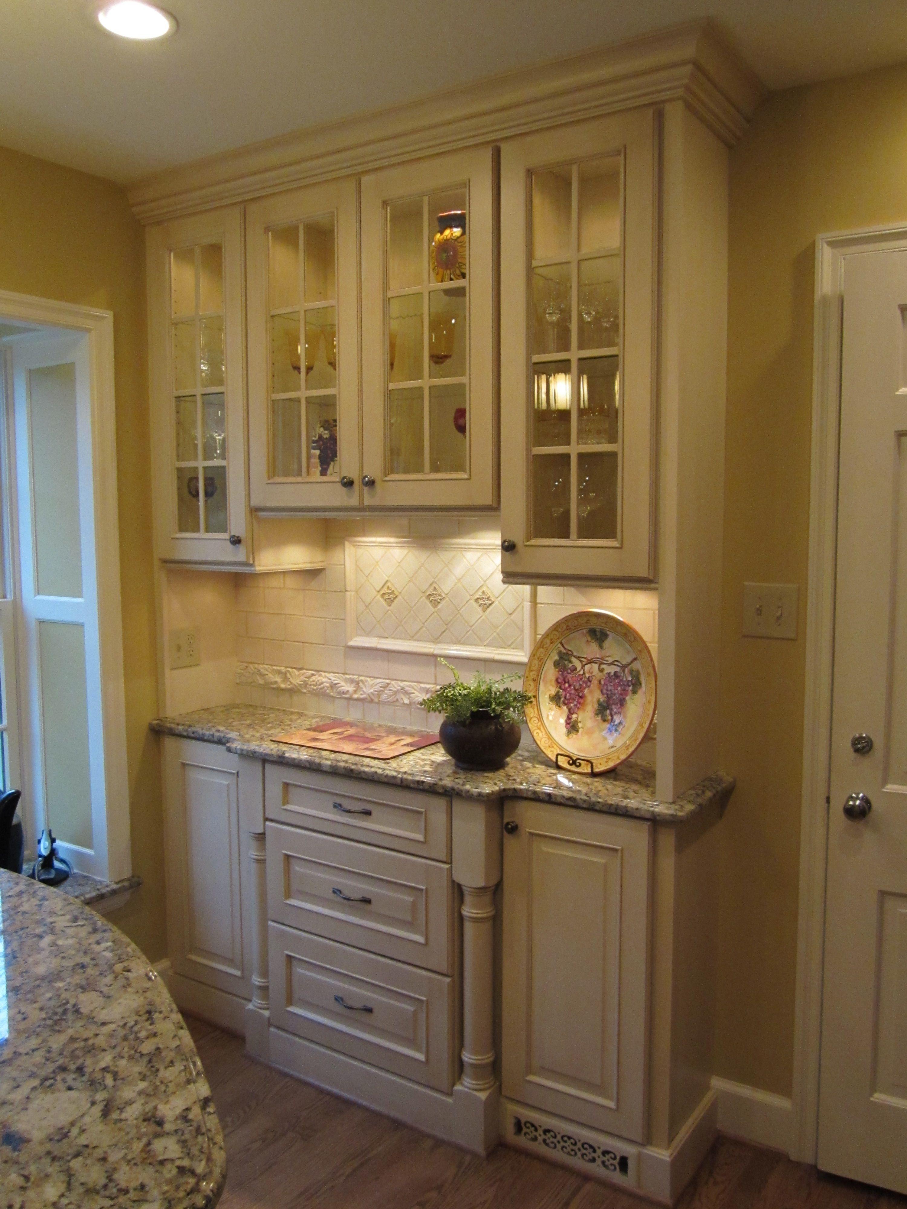 Best Kitchen Gallery: Photo Courtesy Of Jennifer Wilson Ksi Designer Dura Supreme of Wilson Antique Kitchen Cabinet on rachelxblog.com