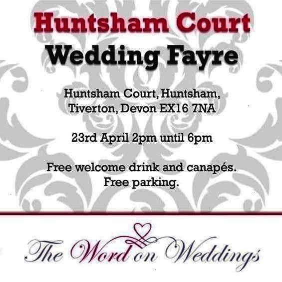 Court wedding fayre this Sunday come and join us the  Events We are exhibiting Huntsham Court wedding fayre this Sunday come and join us the  Events  We are exhibiting Hu...