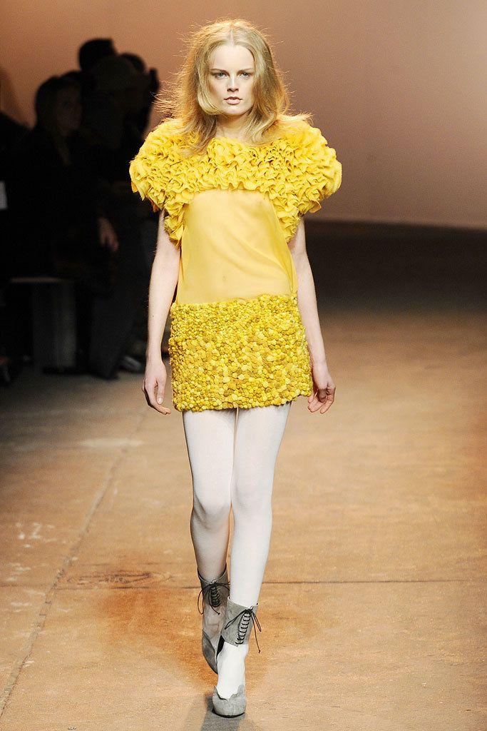 Thakoon Fall 2010 Ready-to-Wear Fashion Show - Hanne Gaby Odiele